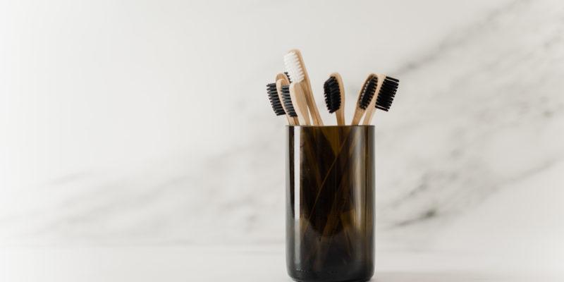wooden toothbrush trend